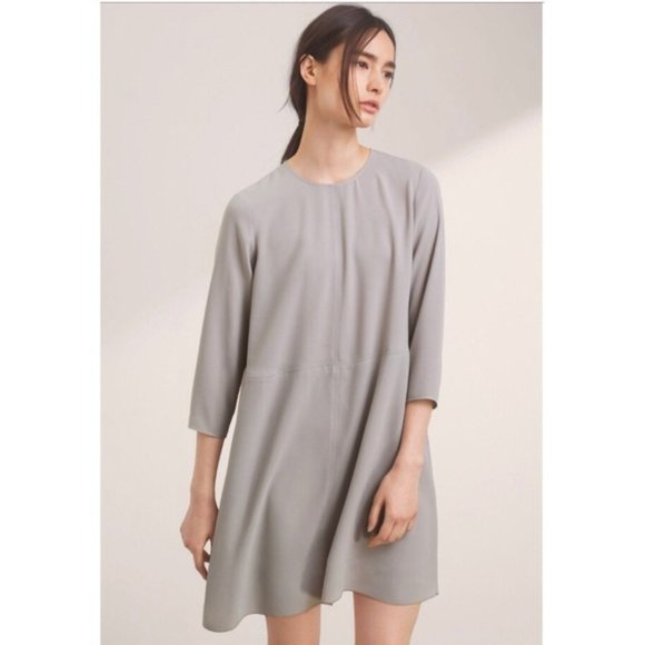 Aritzia | Wilfred Grey Myosotis Dress Tunic